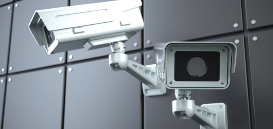 Do security cameras record all the time?