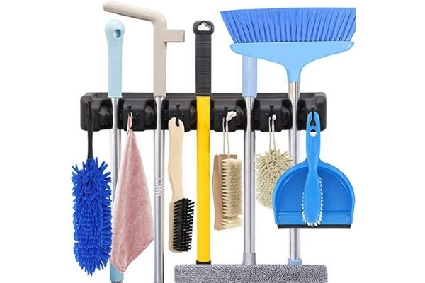 How To Hang Brooms And Mops Perfectly