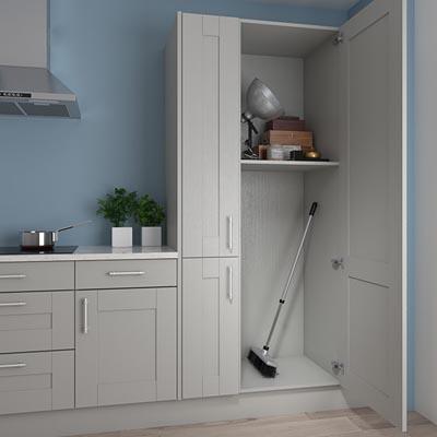 kitchen broom closet