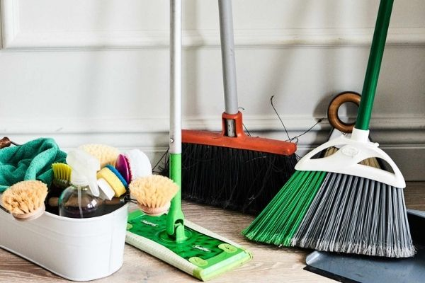 How To Organize Mops And Brooms