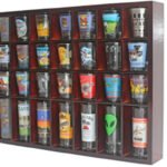 wall shot glass holder
