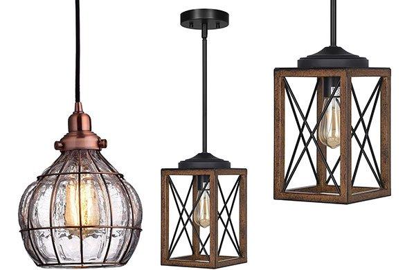 Top 10 Best lantern pendant light for kitchen Reviews