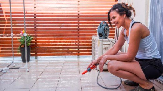 How Often Should You Clean Your Balcony Floor? Cleaning the balcony on a regular basis makes it easier to maintain. But it is nearly impossible to wash out regularly. In that situation, what should you do to keep it clean & tidy? Your outdoor space in front of the balcony needs to be cleaned at least twice every week. On the other hand, we recommend cleaning the entire balcony with the floor once a month. For maintaining the regularity of cleaning, you can make a schedule. Tips to Keep Your Balcony Floors Clean Longer How to keep your balcony floors clean longer? In this segment, we'll share some practical tips that help you to keep the floor of your balcony clean longer for sure. ● Try not to place the potted plants on the floor because falling dead leaves from the plants can make your floor waste. You can hang the plants at the railing using hooks. ● Wipe the furniture that is seated on the balcony regularly as dust continuously accumulates in them. ● Keep the in front of the balcony neat and clean ● You can take a vacuum cleaner that will help you rinse the floor frequently, which consumes less time. ● Choose mops and brooms that can remove the dust from even in the corner of the floor. ● Keep the door glass & window clean with cleaning solutions that are accessible from your balcony. Note Keep in mind that, after cleaning the balcony floor with cleaning supplies, never place them here & there. Hence, these can make your balcony messy rather than tidy. In that case, Broom and Mop Wall Hangers can be used to hang or store them in a specific place. Final Thought In urban life, getting an open balcony in a flat is a blessing that helps take a breath in the fresh air. But the majority of times, people are not supposed to properly take care of it due to their business or idleness. Whatever, in this article, we have provided some simple steps regarding How To Clean Balcony Floor. If you are interested in cleaning your balcony floor, you can do it by following the menti
