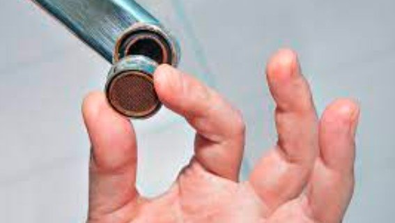 Extract a Faucet Aerator