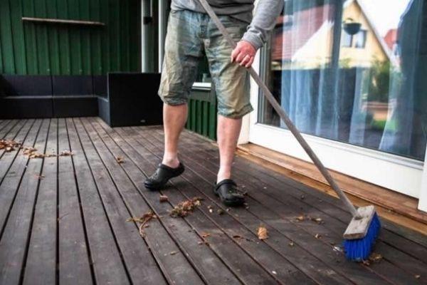 How To Clean Balcony Floor