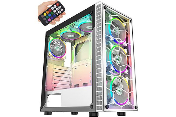 Best black and green computer case Reviews